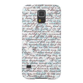 Damasco de Jane Austen Carcasa Para Galaxy S5