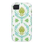 Damasco de la margarita, colores del jardín en ace iPhone 4/4S funda