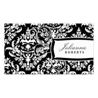 damasco de la noche del n del día 311-Julianna Tarjeta Personal