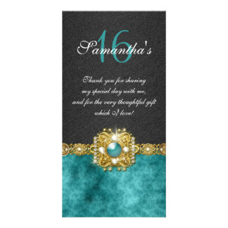Damasco de la perla del diamante de las gemas de tarjetas personales