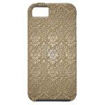 Damasco de madera iPhone 5 Case-Mate protector
