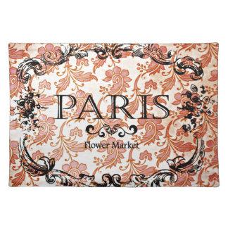 Damasco de París del vintage Mantel