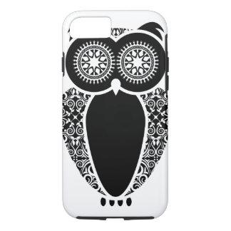 Damasco del búho de StellaRoot Hootie Funda iPhone 7