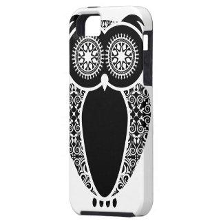 Damasco del búho de StellaRoot Hootie Funda Para iPhone SE/5/5s