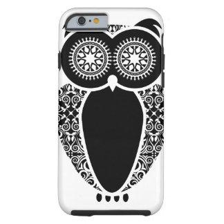 Damasco del búho de StellaRoot Hootie Funda Resistente iPhone 6