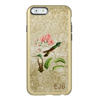 Damasco del colibrí de la gema de la montaña funda para iPhone 6 plus incipio feather shine
