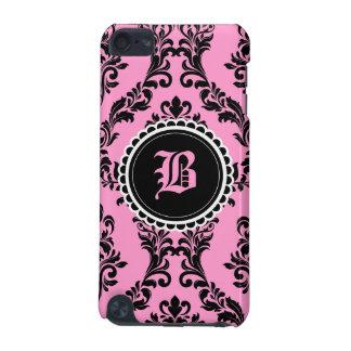 damasco del negro del rosa del tacto de 311 iPod Funda Para iPod Touch 5G