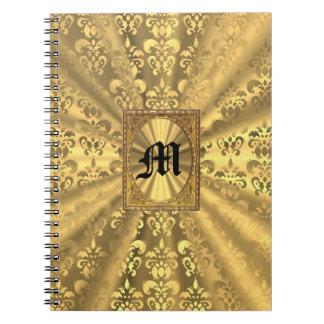 Damasco del oro cuaderno