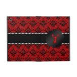 Damasco del rojo de la langosta iPad mini carcasa