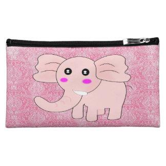 Damasco del rosa del elefante del bebé