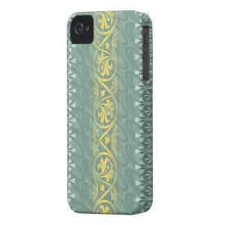 Damasco elegante Blackberry de la mantequilla del iPhone 4 Case-Mate Carcasa