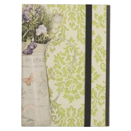 damasco elegante de la verde menta del wildflower
