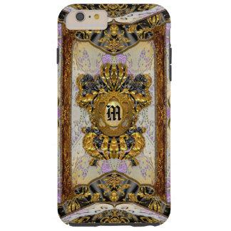 Damasco elegante elegante de Madeline de la Funda De iPhone 6 Plus Tough