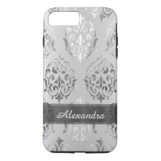 Damasco elegante elegante personalizado de los funda iPhone 7 plus