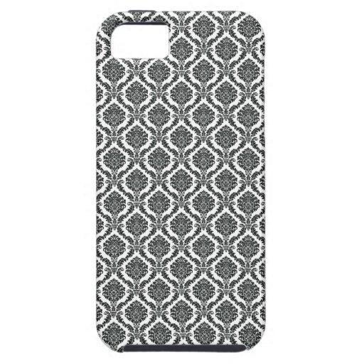 Damasco elegante iPhone 5 Case-Mate funda