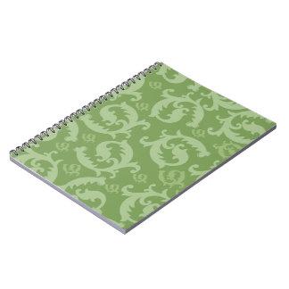 Damasco emplumado obra clásica cuadernos