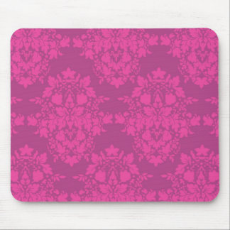 damasco en cojín de ratón de los rosas alfombrilla de ratones