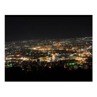 Damasco en la noche - Siria Postal