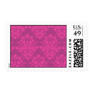 damasco en rosas sello
