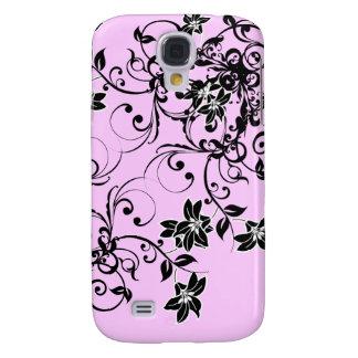 Damasco floral blanco y negro Caso de IPhone 3G