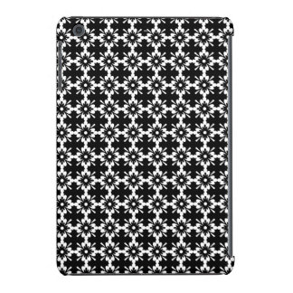 Damasco floral blanco y negro fundas de iPad mini retina