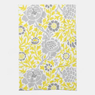 Damasco floral retro toallas de cocina