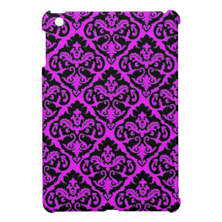 Damasco francés púrpura iPad mini carcasas