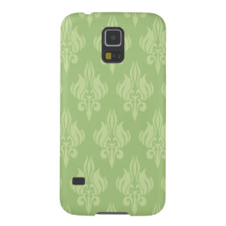 Damasco hermoso y verde funda de galaxy s5