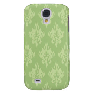 Damasco hermoso y verde funda para galaxy s4