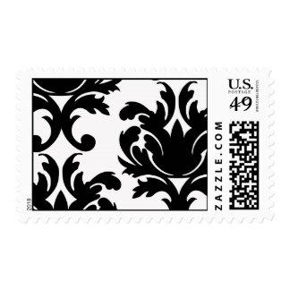 damasco intrépido blanco y negro grande envio