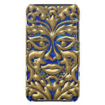 damasco líquido de GreenMan del oro 3D en borrachí Case-Mate iPod Touch Coberturas