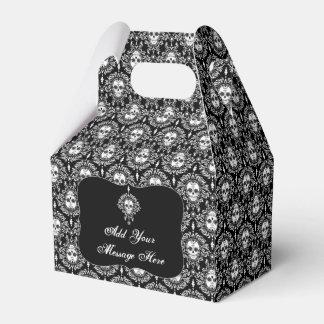 Damasco muerto - caja de encargo del favor de caja para regalo de boda
