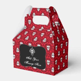 Damasco muerto - caja de encargo del favor de caja para regalos de fiestas