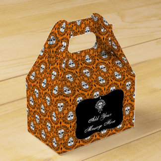 Damasco muerto - caja de encargo del favor de cajas para regalos de boda