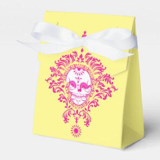 Damasco muerto - cajas de encargo del favor del cajas para detalles de boda
