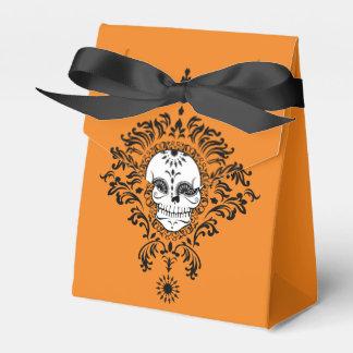Damasco muerto - cajas de encargo del favor del cajas para regalos de boda