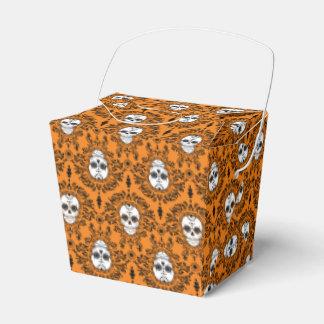 Damasco muerto - cajas para llevar del cráneo caja para regalo de boda