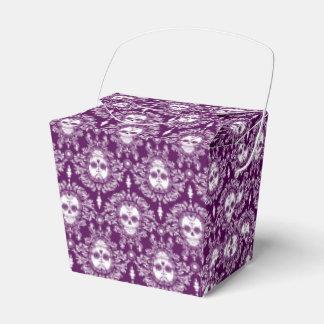Damasco muerto - cajas para llevar del cráneo cajas para regalos