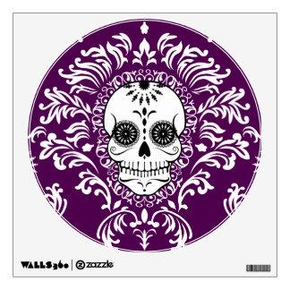 Damasco muerto - etiqueta elegante de la pared del vinilo decorativo