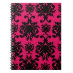 damasco negro en la frambuesa intrépida libro de apuntes