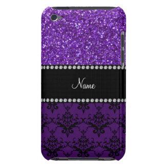 Damasco púrpura conocido personalizado del brillo Case-Mate iPod touch cobertura