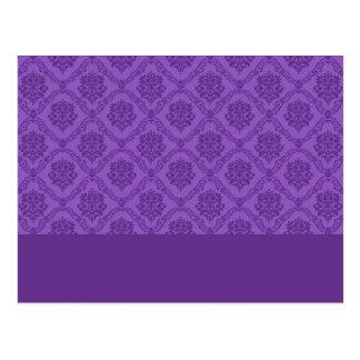 Damasco púrpura postal