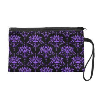 Damasco púrpura y negro del bígaro
