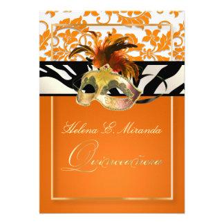 Damasco Quinceanera cebra de PixDezines Tanza Comunicado