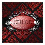 damasco rojo 40 del regaliz 311-Luxuriously Anuncios Personalizados