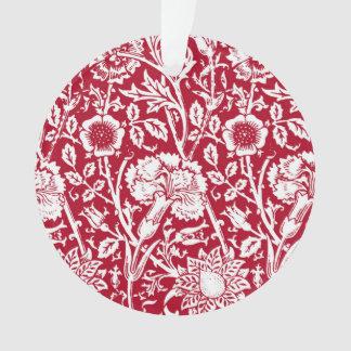 Damasco, rojo y blanco del clavel de Nouveau del