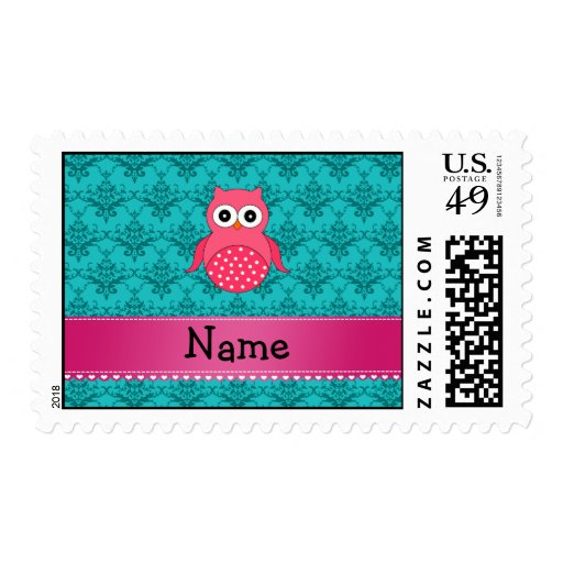 Damasco rosado conocido personalizado de la turque sellos