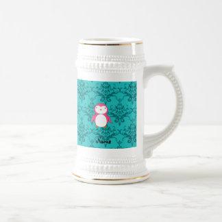 Damasco rosado conocido personalizado de la turque taza de café