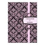 """damasco rosado del regaliz 311-Julianna Invitación 5"""" X 7"""""""
