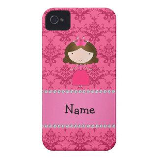 Damasco rosado personalizado de la princesa conoci